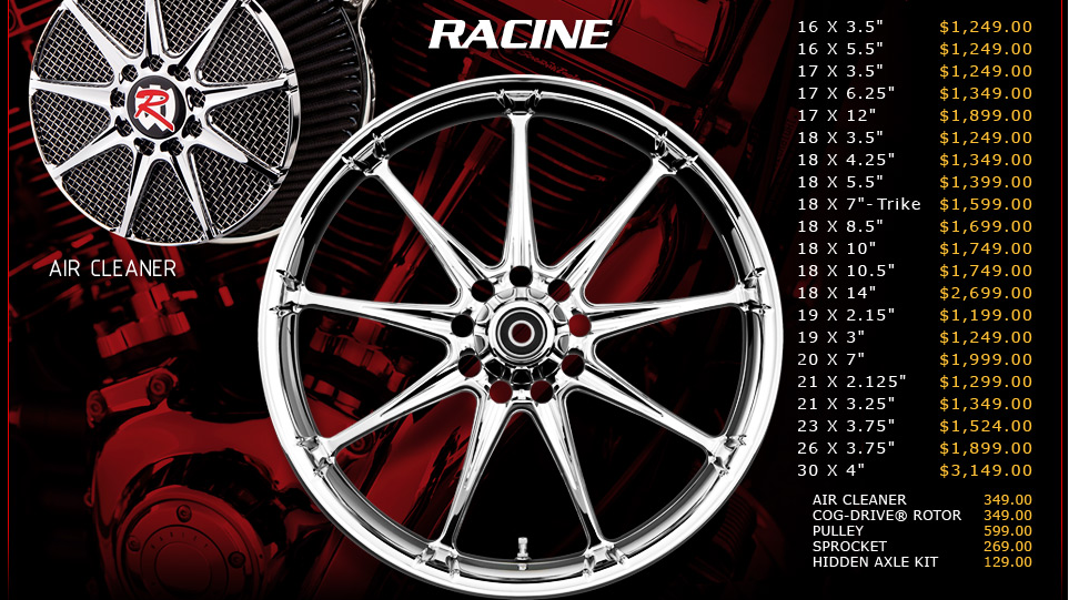 Renegade Racine for Touring Models