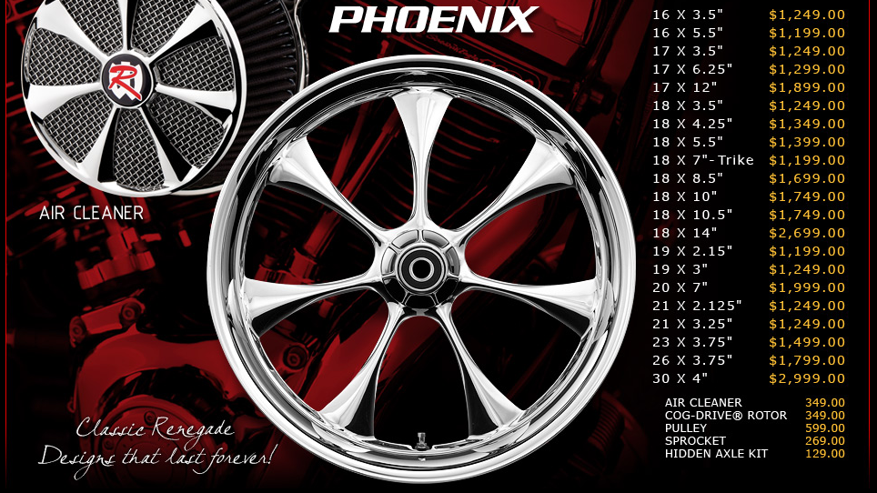 Renegade Phoenix for Touring Models