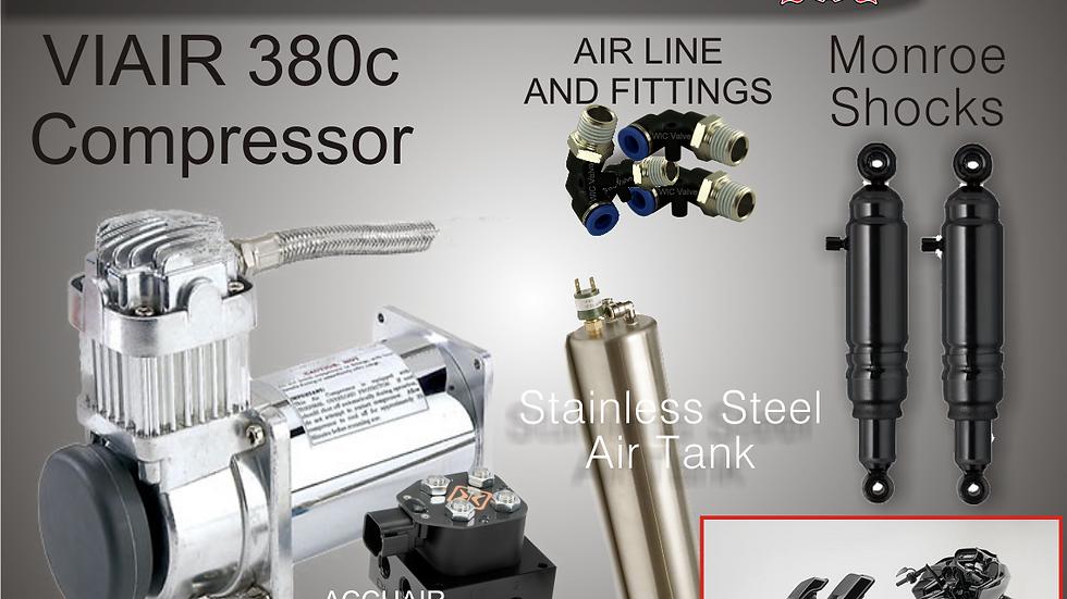 "Hot Rods & Handlebars ""Fast Rear"" Air ride kit"