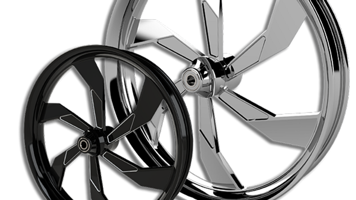 F22 Rear Wheel