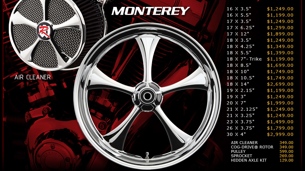 Renegade Monterey for Touring Models
