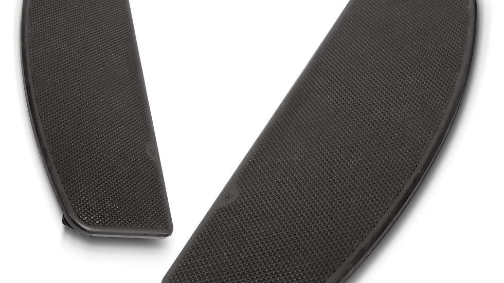 Arlen Ness Knurled Floorboard Inserts - FLT