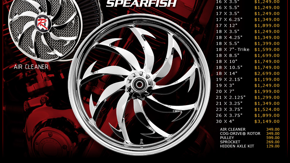 Renegade Spearfish for Touring Models
