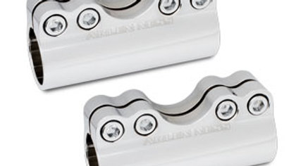 Modular Adjustable Handlebar Clamps - Chrome