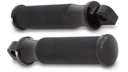 Smooth Fusion Footpegs - Black