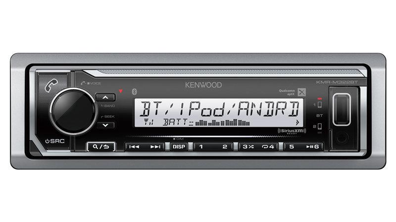 KMR-M322BT Marine Digital Media Receiver with Bluetooth