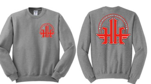 Hot Rods and Handlebars Silk Screened Crewneck Sweatshirt