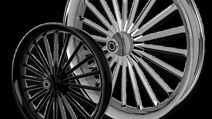 Straight Line Rear Wheel