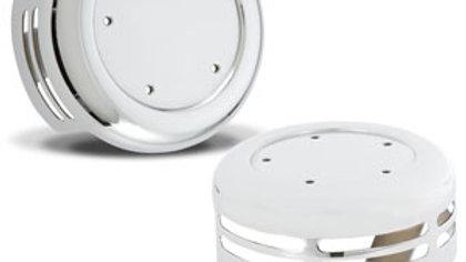 Steel 5-Hole Horn Cover - Chrome