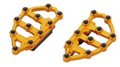Ness MX Passenger Floorboards - Gold