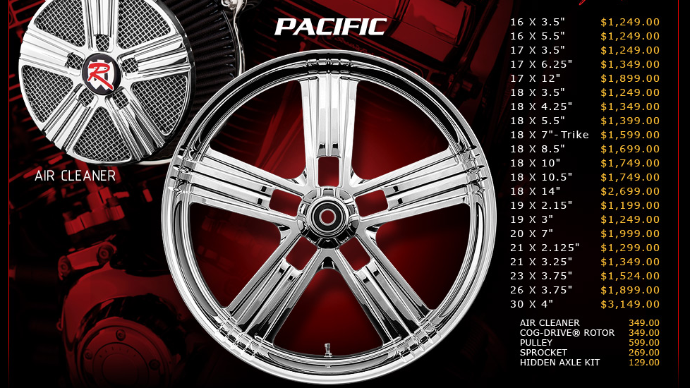 Renegade Pacific for Touring Models
