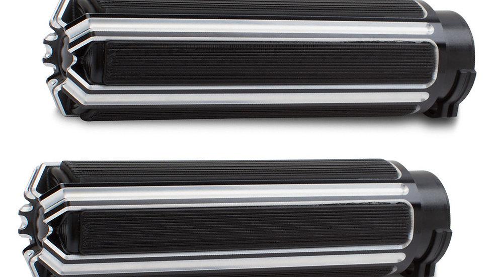 Arlen Ness 10-Gauge Billet Grips - Black