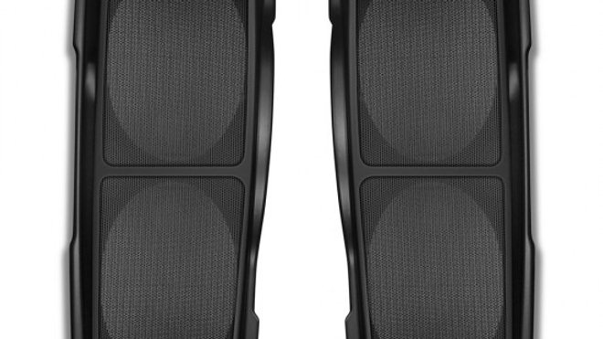 Double Up Saddlebag Speaker Lids for Harley 93'-13