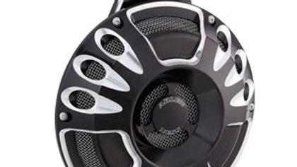 Deep Cut Billet Horn Kit - Black