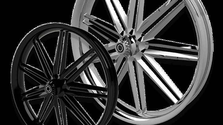 SSR Rear Wheel