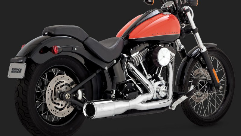 Vance & Hines - HI-OUTPUT 2-INTO-1 SHORT SOFTAIL