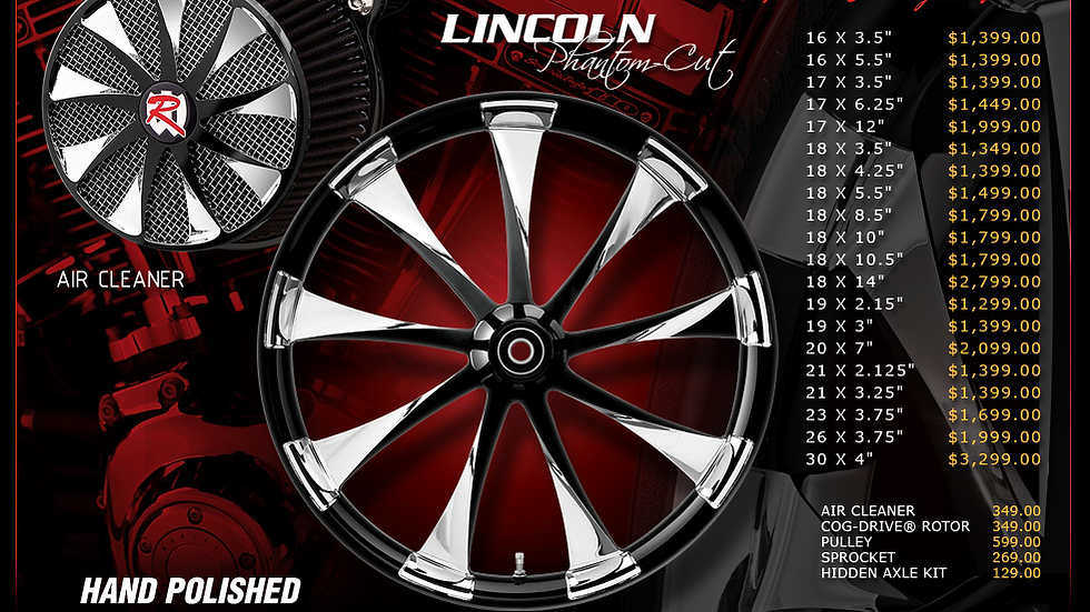 Renegade Lincoln Phantom for Touring Models