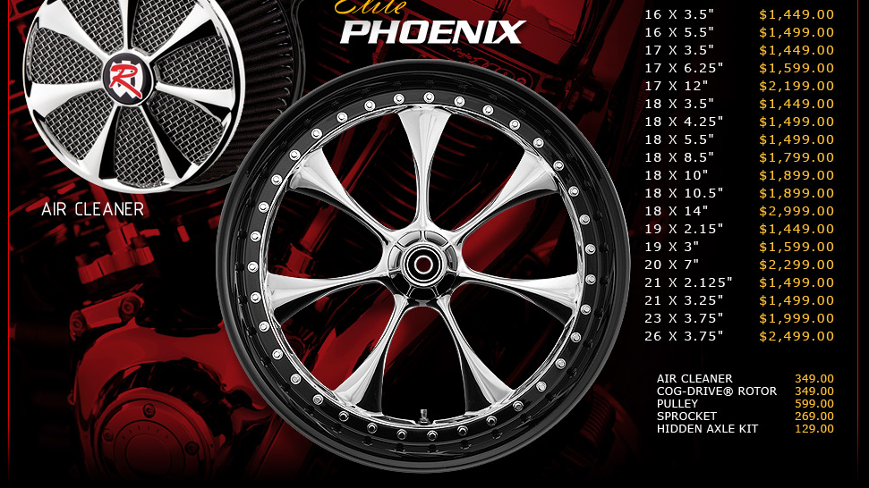 Renegade Phoenix Elite for Touring Models