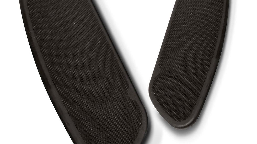 Arlen Ness Knurled Floorboard Inserts - FLHT/FLHX