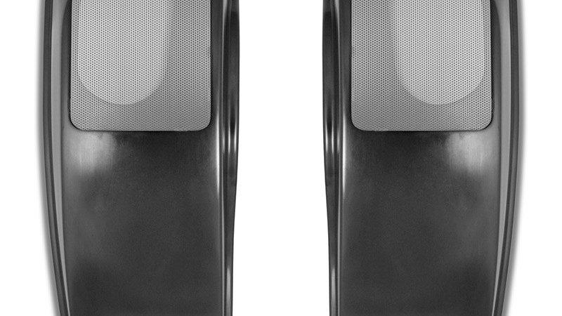 Saddlebag Speaker Lids for Harley 2014 & Later