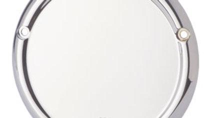 Radius Derby Cover (3-Hole) - 70-98 Big Twin - Chrome
