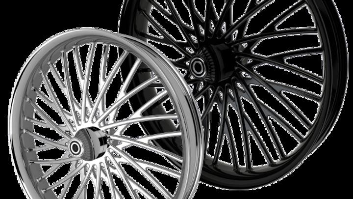 Dirty Spoke Rear Wheel