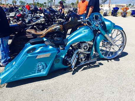 #streetkiller posted up at the ride for