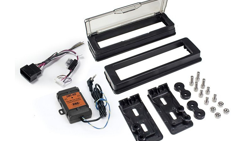 Harley Davidson Dash Kit Stereo Installation