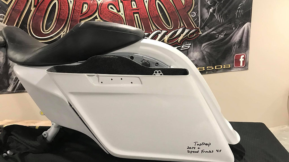 Top Shop Speed Freaks 4.5 saddle bags 2014-2018