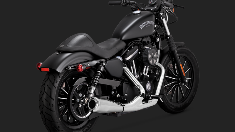 Vance & Hines - 2-INTO-1 UPSWEEP SPORTSTER