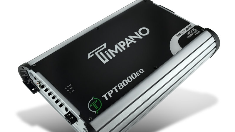 Timpano-TPT8000EQ One Channel Class D Amplifier