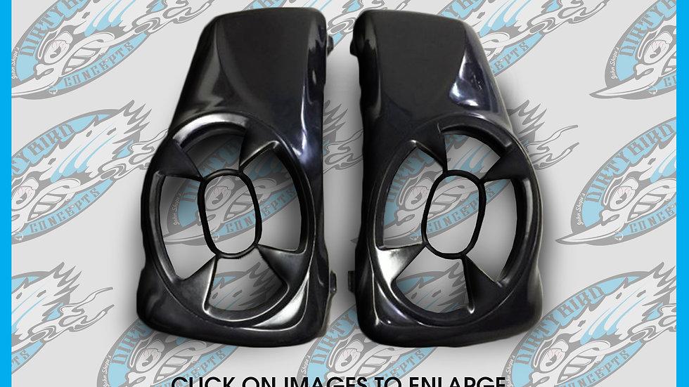 Top Flight Saddlebag 7X10 Speaker Lids Up To 2013