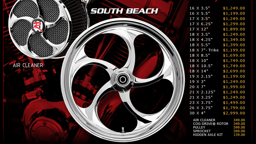 Renegade Southbeach for Touring Models