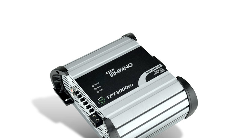 Timpano-TPT3000EQ One Channel Class D Amplifier