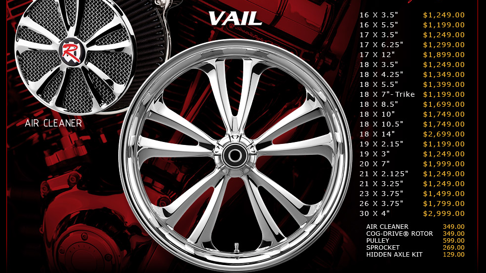 Renegade Vail for Touring Models