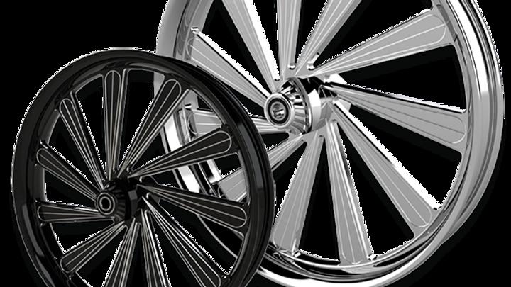 Derailed Rear Wheel