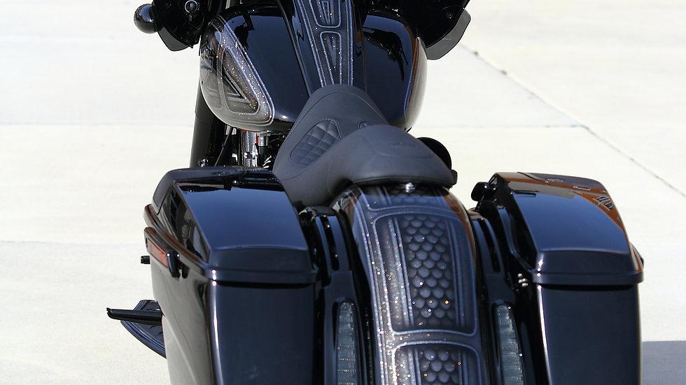 Top Shop 2014-19 Black Death CVO Style bag kit
