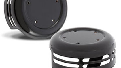 Steel 5-Hole Horn Cover - Black
