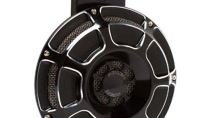 Beveled Billet Horn Kit - Black