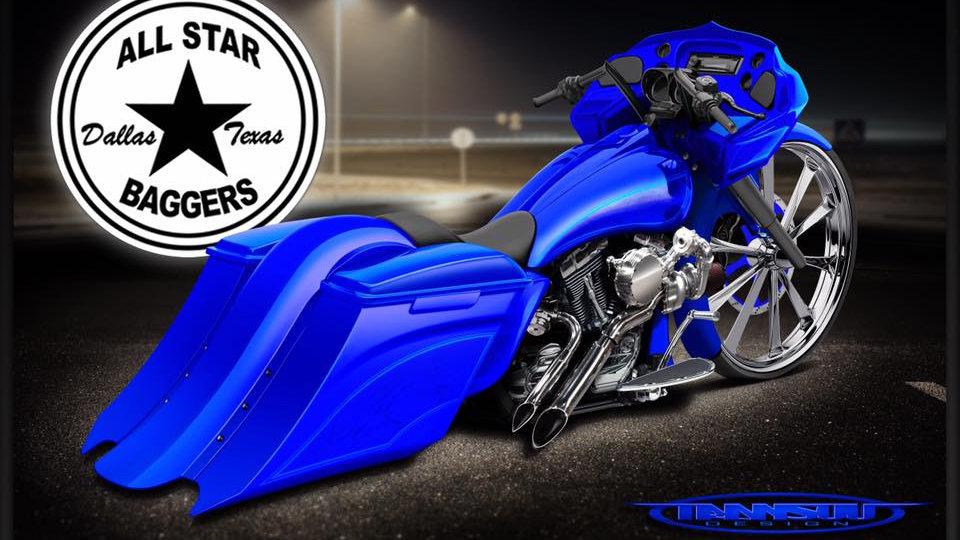 All Star Baggers Thrasher Bag and Fender Kit