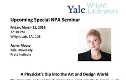 Scientist in art & design world