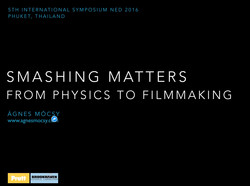 From Physics to Filmmaking