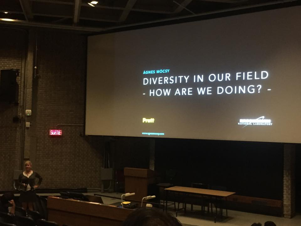 Plenary Talk on Diversity