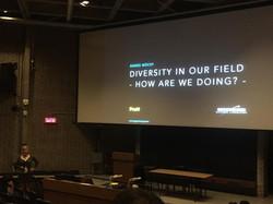 Plenary Talk on Diversity