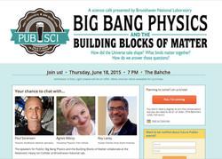 PubSci: Big Bang Physics