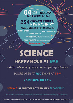 Science Happy Hour 2019