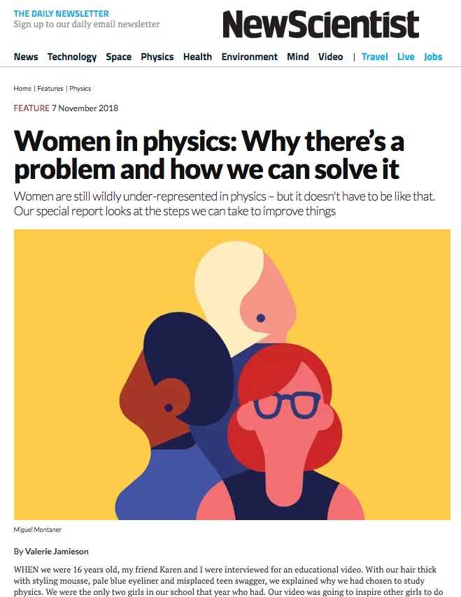 Featured in the New Scientist
