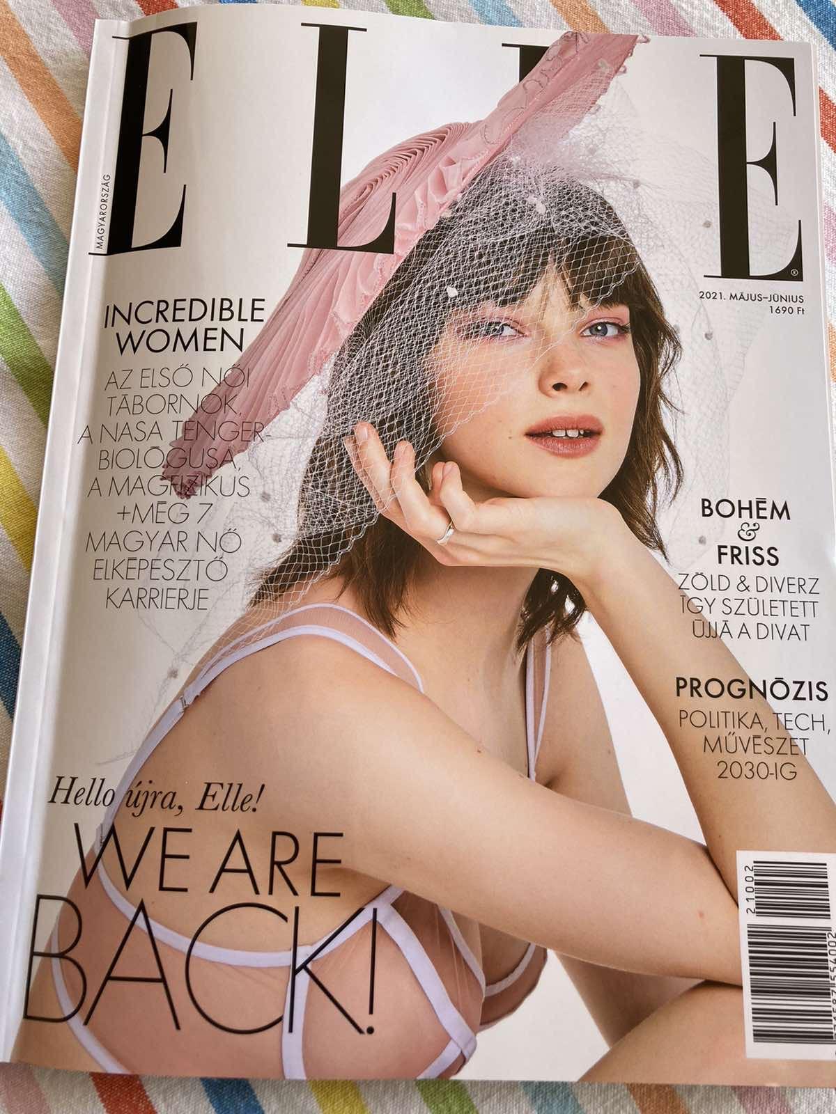 ELLE Magazine Hungary