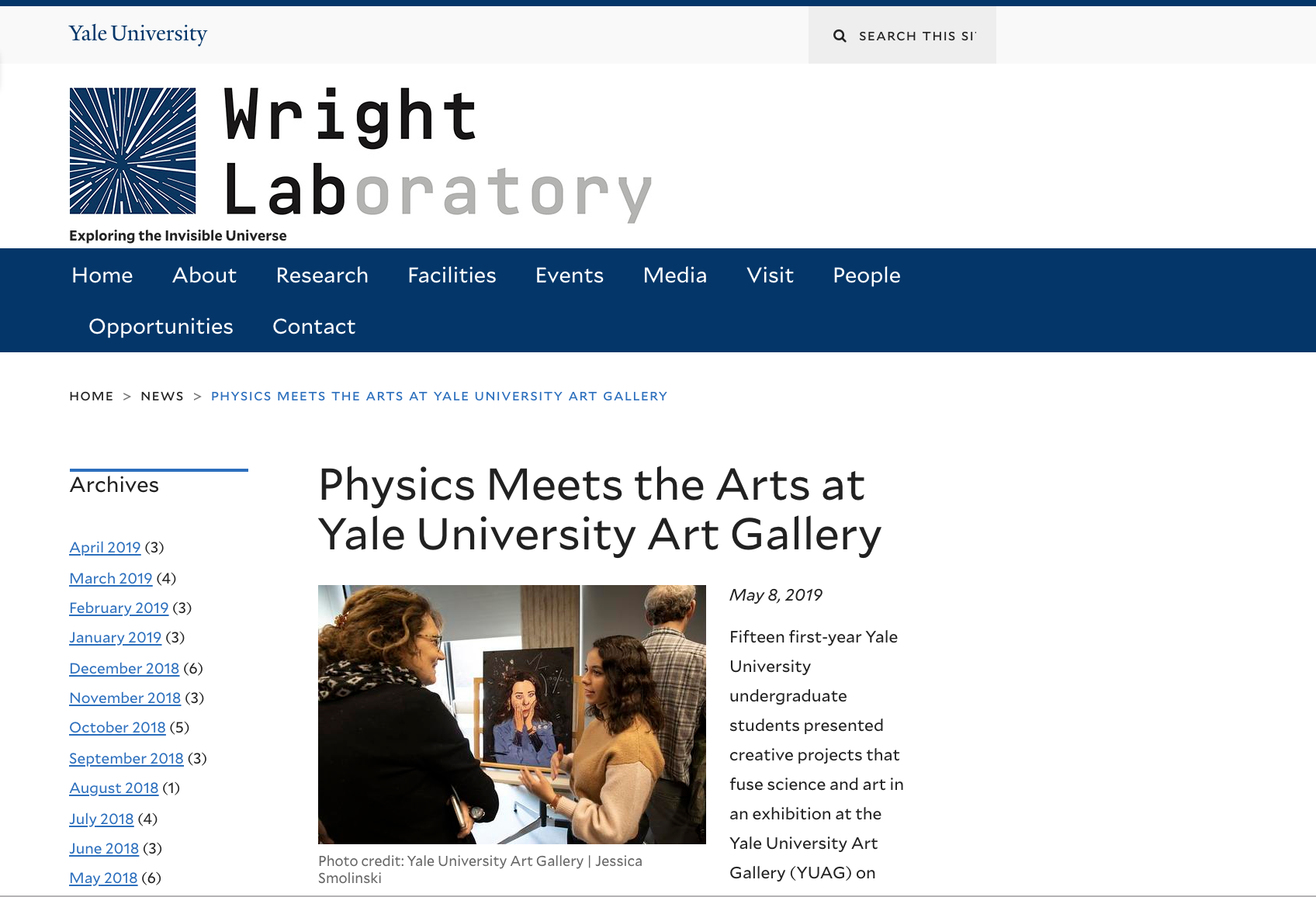 In Yale News