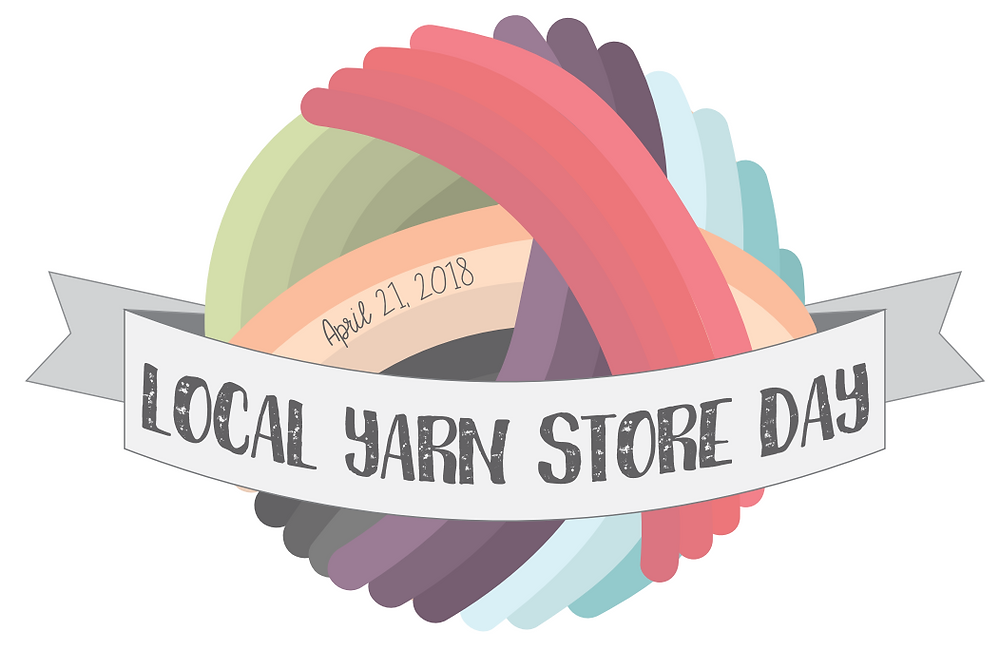 Local Yarn Store Day image, from ImagiKnit.com